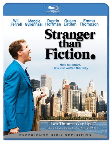 Stranger Than Fiction Ferrell Thompson Latifah Blu Ray Ws Pg13