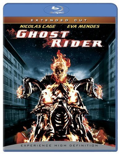 Ghost Rider Cage Mendes Bentley Elliott Fo Blu Ray Ws Extended Cut Nr Unrated