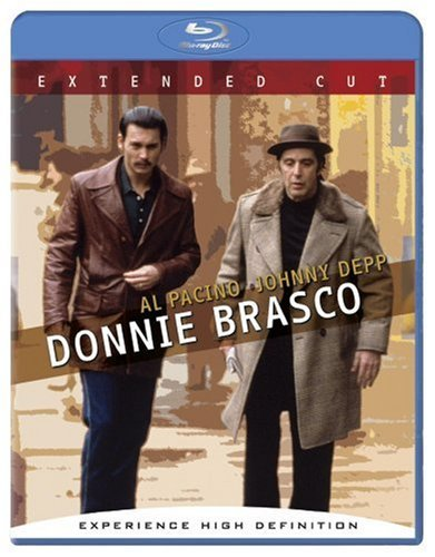 Donnie Brasco Depp Pacino Blu Ray Ws Extended Cut Nr Unrated