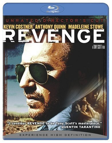 Revenge Costner Quinn Stowe Blu Ray Ws Director's Cut Nr Unrated