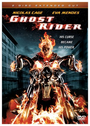 Ghost Rider Cage Mendes Bentley Elliott Fo Extended Cut Unrated Nr 2 DVD