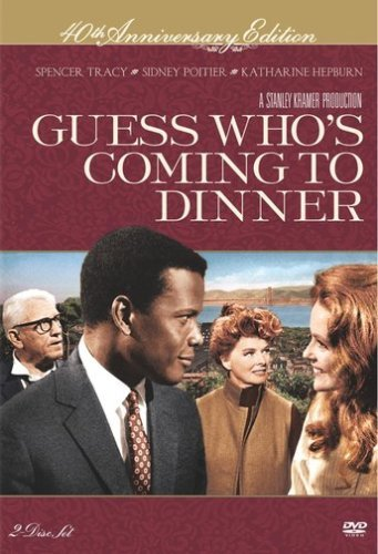 Guess Who's Coming To Dinner Portier Hepburn Tracy DVD Nr