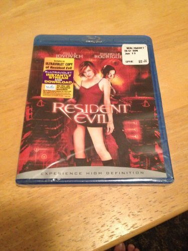 Resident Evil Jovovich Rodriguez Mabius Pure Blu Ray R