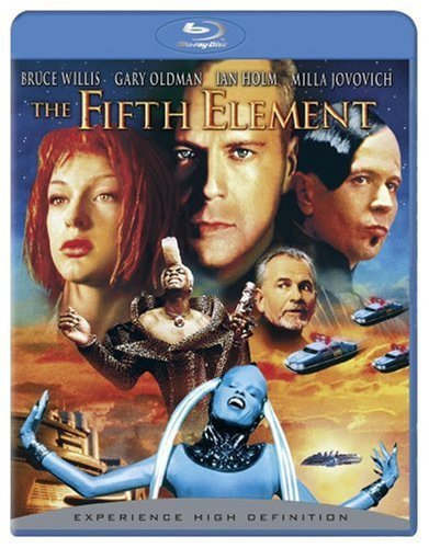 Fifth Element Willis Oldman Jovovich Holm Blu Ray Nr Ws