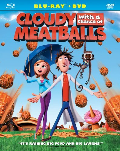 Cloudy With A Chance Of Meatballs Cloudy With A Chance Of Meatballs Blu Ray DVD Pg Ws
