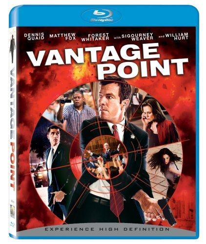 Vantage Point Quaid Fox Hurt Weaver Blu Ray Ws Pg13