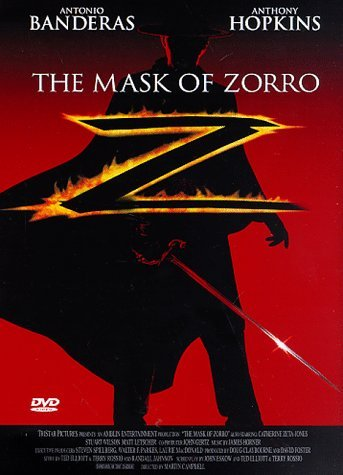 Mask Of Zorro Banderas Hopkins Clr Cc Thx Ws Keeper Prbk 12 12 00 Pg13