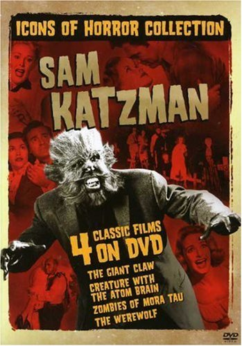 Icons Of Horror Sam Katzman Icons Of Horror Sam Katzman Ws Nr 2 DVD