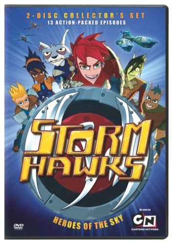 Storm Hawks Heroes Of The Sky Ws Coll. Set Nr 2 DVD