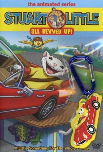Stuart Little Animated Series All Revved Up! Nr Incl. Backpack Clip