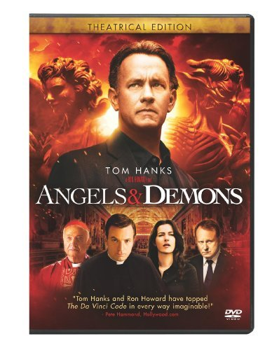 Angels & Demons Hanks Zurer Mcgregor Skarsgard DVD Pg13
