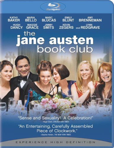Jane Austen Book Club Bello Blunt Brenneman Blu Ray Ws Pg13
