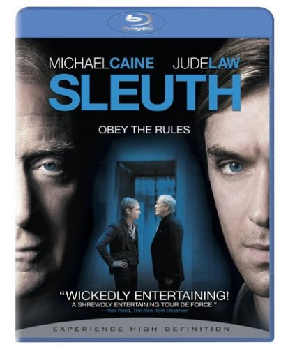 Sleuth (2007) Law Caine Blu Ray Ws R