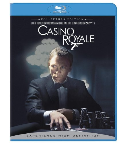 James Bond Casino Royale (2006) Craig Green Dench Wright Pg13 3 DVD