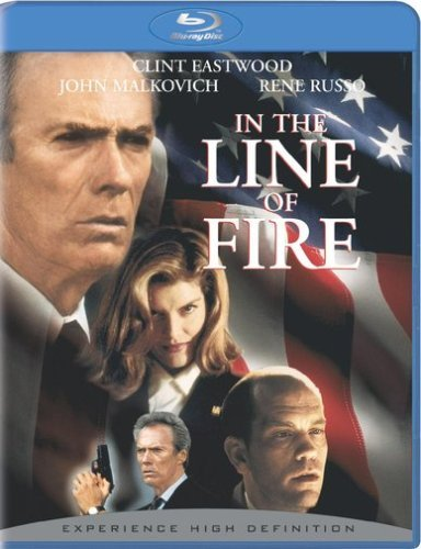 In The Line Of Fire Eastwood Malkovich Russo Blu Ray Ws R