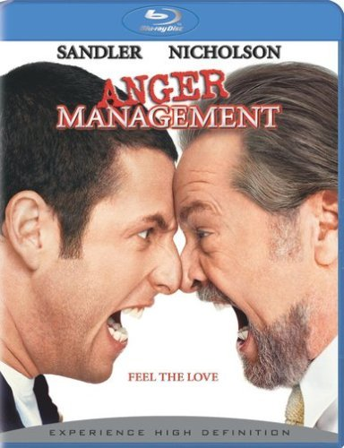 Anger Management Sandler Nichalson Blu Ray Ws Pg13