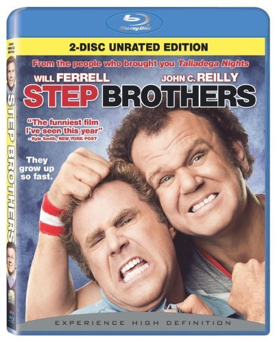 Step Brothers Ferrell Reilly Blu Ray Ws Ur 2 Br