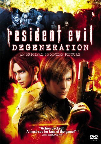 Resident Evil Degeneration Resident Evil Degeneration DVD R Animated Feature