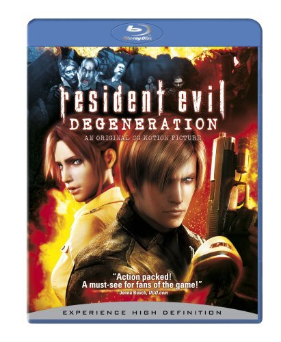 Resident Evil Degeneration Resident Evil Degeneration Blu Ray R Animated Feature