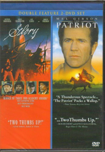 Mel Gibson Glory The Patriot Double Feature