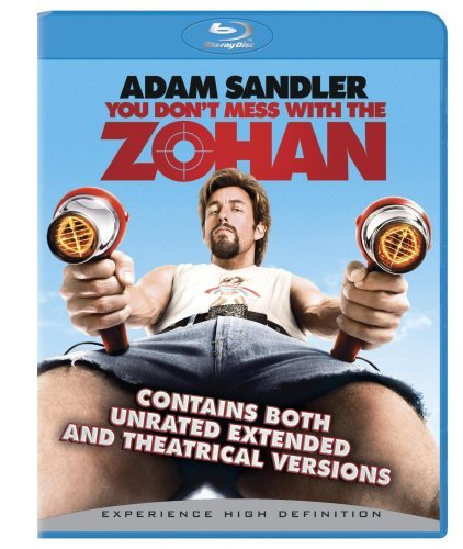 You Don't Mess With The Zohan Sandler Turturro Chrigui Blu Ray Ws Ur