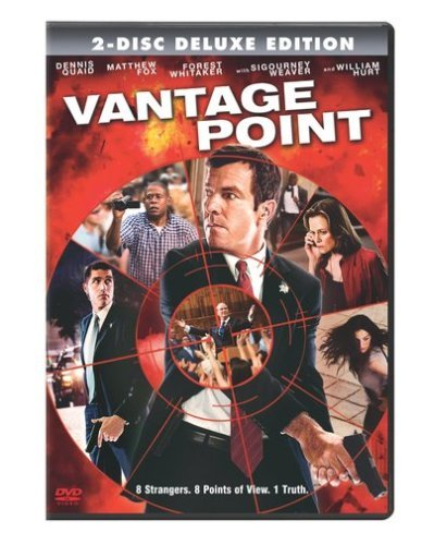Vantage Point Quaid Fox Hurt Weaver Ws Pg13 2 DVD