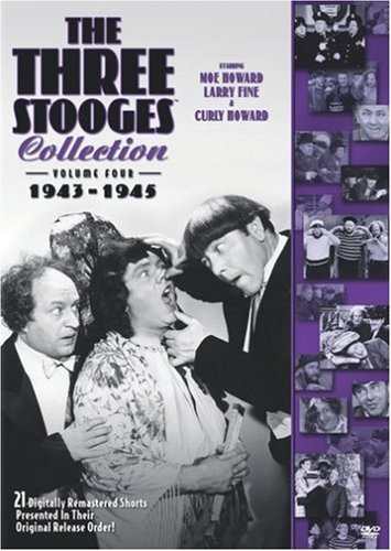 Three Stooges Vol. 4 Collection 1943 45 Nr 2 DVD
