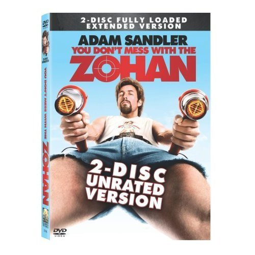 You Don't Mess With The Zohan Sandler Turturro Chrigui Ws Ur 2 DVD