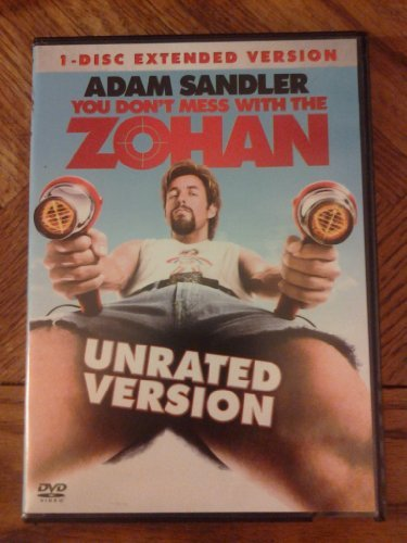 You Don't Mess With The Zohan Sandler Turturro Chrigui 1 Disc Extended Version