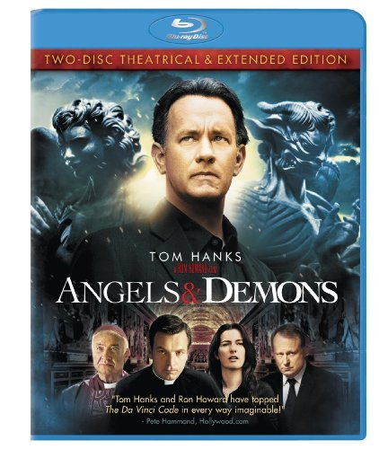 Angels & Demons Hanks Zurer Mcgregor Skarsgard Blu Ray Ws Pg13 2 Br