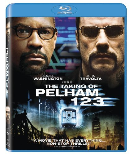 Taking Of Pelham 1 2 3 (2009) Washington Travolta Blu Ray Ws R