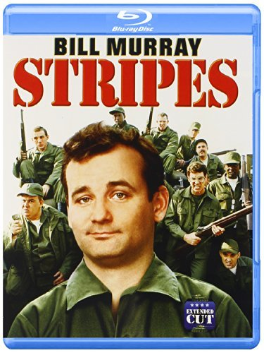 Stripes Murray Ramis Candy Oates Blu Ray Ws R