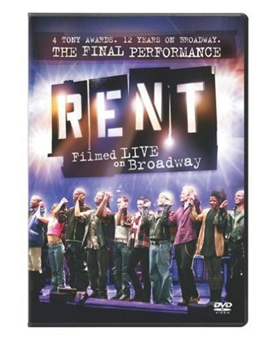 Rent Filmed Live On Broadway Rent Filmed Live On Broadway Ws Nr