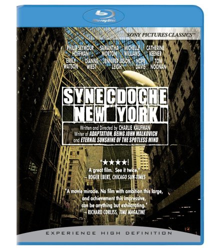 Synecdoche New York Hoffman Morton Williams Keener Blu Ray Ws R