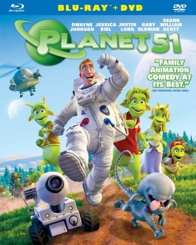 Planet 51 Planet 51 Blu Ray Ws Pg Incl. DVD