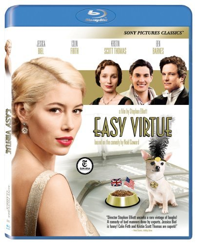 Easy Virtue (2008) Biel Firth Thomas Blu Ray Ws Pg13