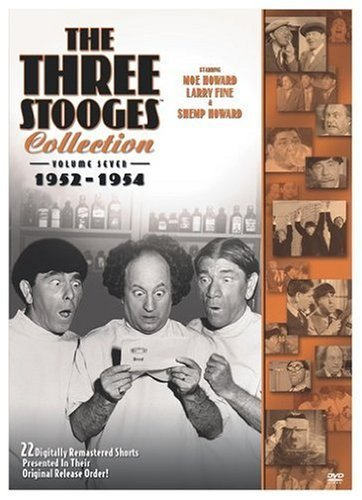 Three Stooges Vol. 7 Collection 1952 54 Ws Nr 2 DVD