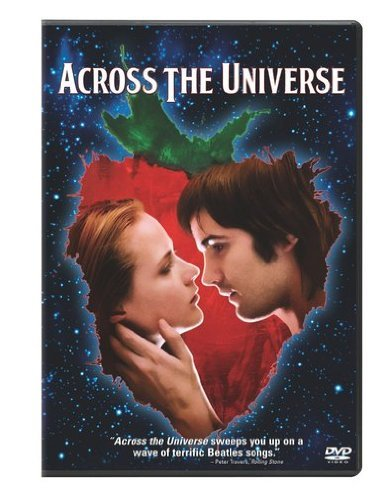 Across The Universe Wood Sturgess DVD Pg13 Ws