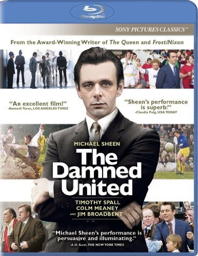 Damned United Sheen Broadbent Spall Meaney Blu Ray Ws R