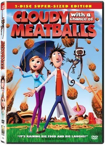 Cloudy With A Chance Of Meatba Cloudy With A Chance Of Meatba Ws Pg 2 DVD