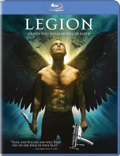 Legion (2010) Bettany Quaid Gibson Blu Ray Ws R