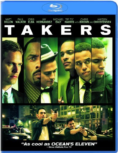 Takers Dillon Walker Elba Blu Ray Ws Pg13