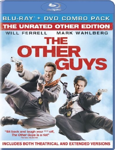 Other Guys Ferrell Wahlberg Blu Ray Ws Ur Incl. DVD