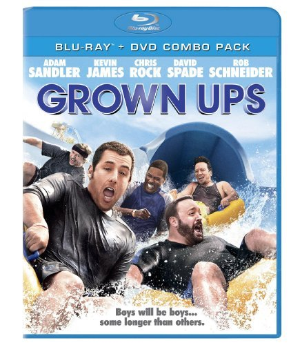 Grown Ups Sandler Rock Spade Blu Ray Ws Pg13 Incl. DVD