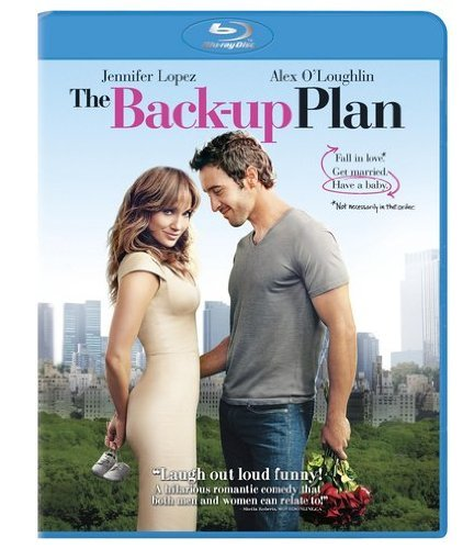 Back Up Plan Lopez O'loughlin Lavin Bosley Blu Ray Ws Pg13