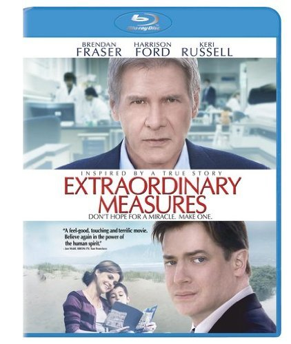 Extraordinary Measures Ford Fraser Russell Blu Ray Ws Pg