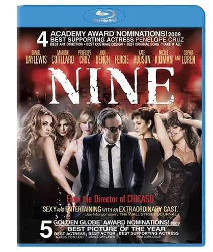 Nine Day Lewis Cruz Kidman Loren Blu Ray Ws Pg13