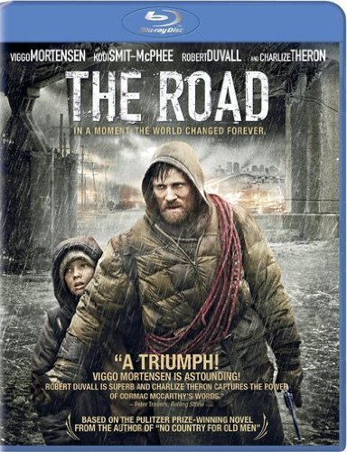 Road Mortensen Theron Duvall Pearce Blu Ray Ws R