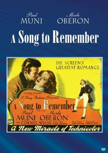 Song To Remember Wilde Oberon Arno DVD Mod This Item Is Made On Demand Could Take 2 3 Weeks For Delivery