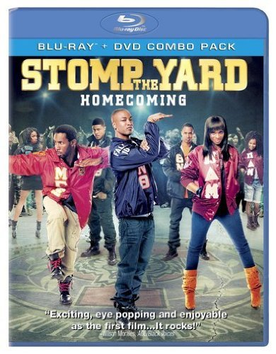 Stomp The Yard Homecoming Pennie Terrence J Boss William Blu Ray DVD Pg13